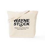 Waynestock Tote Bag