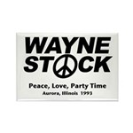 Waynestock Rectangle Magnet (100 pack)