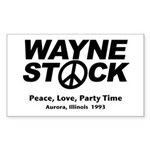 Waynestock Rectangle Sticker