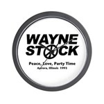 Waynestock Wall Clock