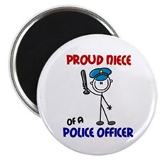 Proud Niece 1 (Police Officer) Magnet