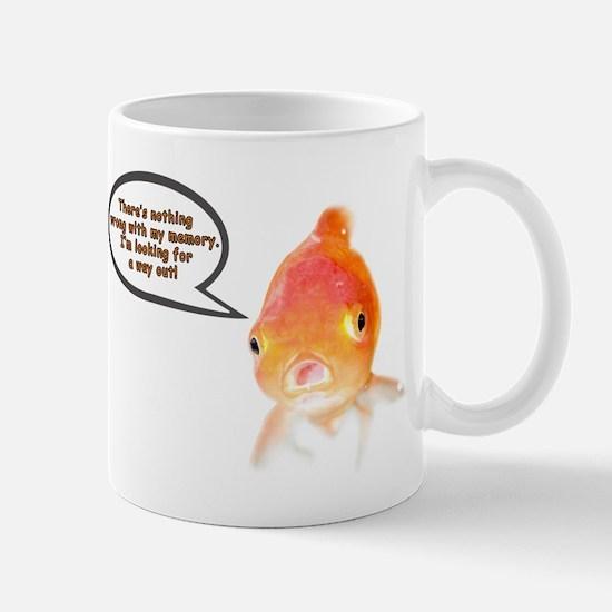 Cranky Goldfish Mug
