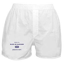 Property of my Bleus de Gascogne Boxer Shorts