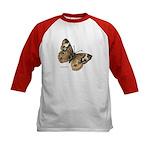Buckeye Butterfly (Front) Kids Baseball Jersey