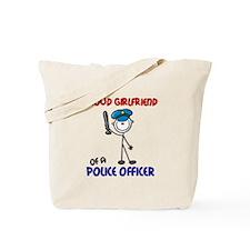 Proud Girlfriend 1 (Police Officer) Tote Bag
