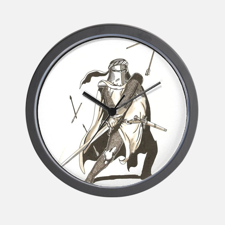 Cute Paladin Wall Clock