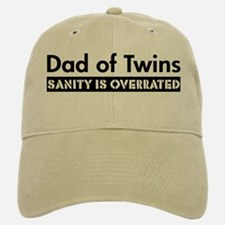 Sanity is Overrated Baseball Baseball Cap