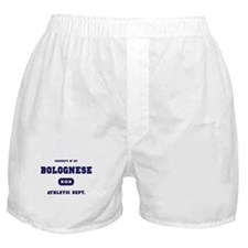 Property of my Bolognese Boxer Shorts