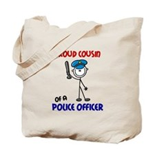 Proud Cousin 1 (Police Officer) Tote Bag