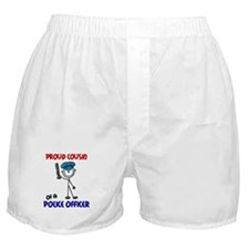 Proud Cousin 1 (Police Officer) Boxer Shorts