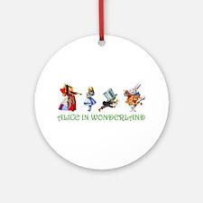 WONDERLAND Ornament (Round)