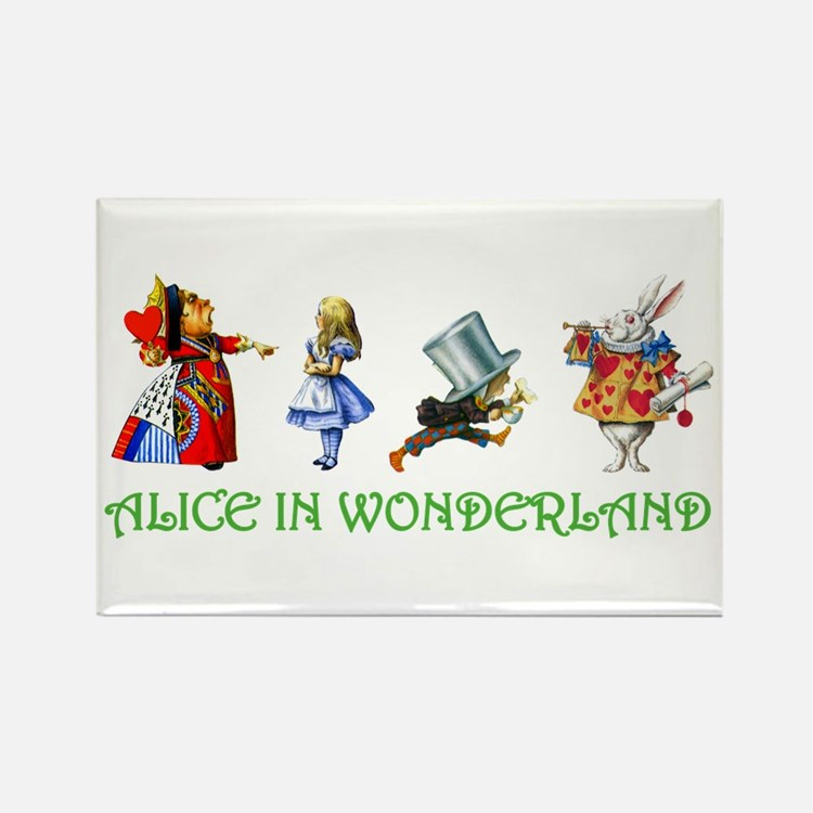 WONDERLAND Rectangle Magnet (10 pack)