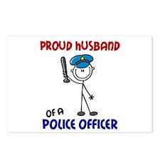 Proud Husband 1 (Police Officer) Postcards (Packag