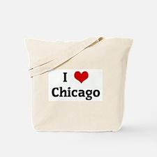 I Love Chicago Tote Bag
