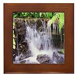 Waterfall Framed Tile