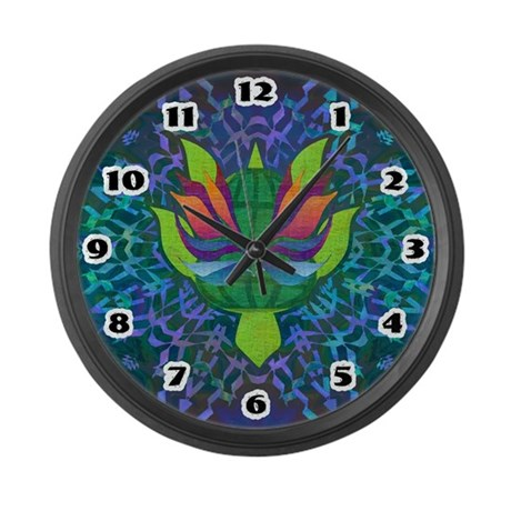 Flying Turtle Large Wall Clock