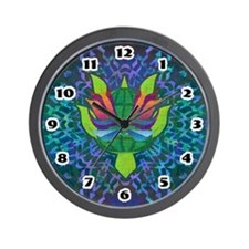 Flying Turtle Wall Clock
