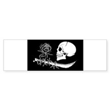 black rose Bumper Bumper Sticker