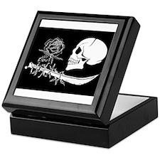 black rose Keepsake Box