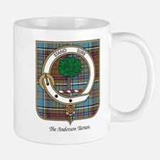 Anderson Clan Badge and Tartan Small Small Mug