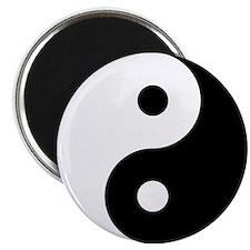 Yin Yang 2.25 in. Magnet (10 pack)