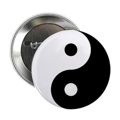 Yin Yang 2.25 in. Button (10 pack)