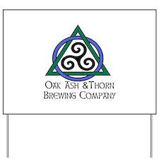 Brewing Logo Yard Sign