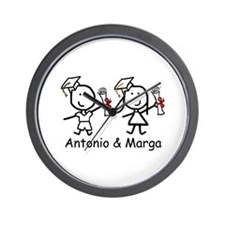 Grads - Antonio & Marga Wall Clock