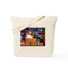 Jesus In A Box Tote Bag