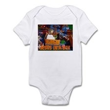 Jesus In A Box Infant Bodysuit