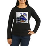 MPM Women's Long Sleeve Dark T-Shirt