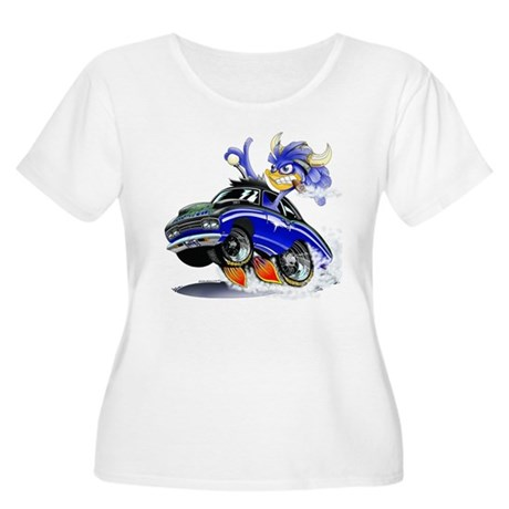 MPM Women's Plus Size Scoop Neck T-Shirt