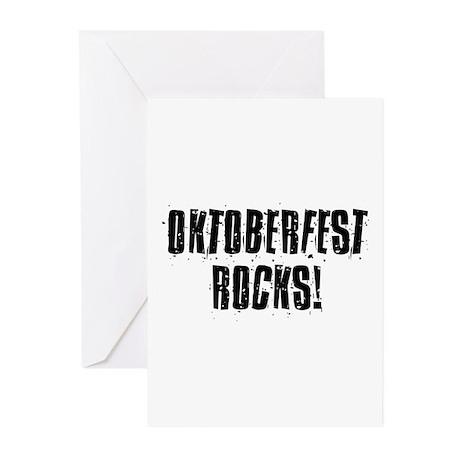 Oktoberfest Rocks! Greeting Cards (Pk of 20)