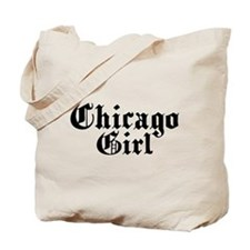 Chicago Girl Tote Bag