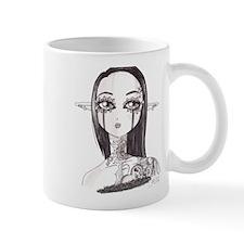 Tattooed Anime Elf Mug
