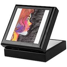 A Face of Color Keepsake Box