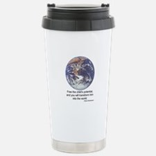Montessori World Travel Mug