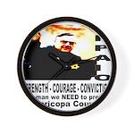 Sheriff Joe Arpaio the man we Wall Clock