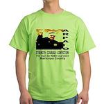 Sheriff Joe Arpaio the man we Green T-Shirt
