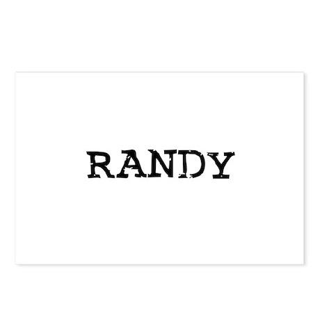 Randy Postcards (Package of 8)