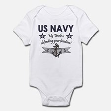 US NAVY Uncle defending Infant Creeper