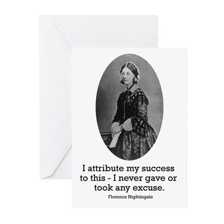 Florence Nightingale Greeting Cards (Pk of 20)