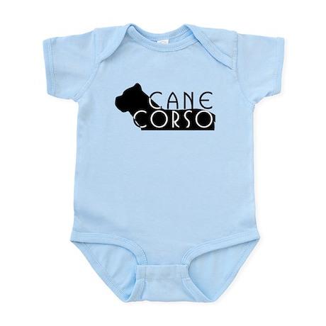 Black Cane Corso Infant Bodysuit