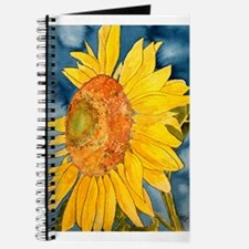sunflower flower watercolor p Journal
