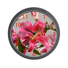 Morning Lilly Wall Clock