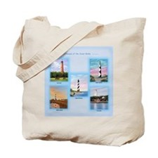 Lighthouses Of The Outer Banks Tote Bag