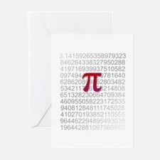 Delicious Pi Greeting Cards (Pk of 20)