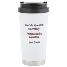 World's Greatest Secretary Travel Mug