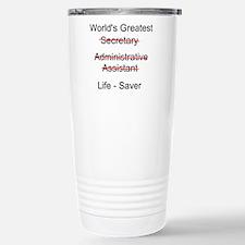 World's Greatest Secretary Travel Mug