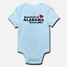 Somebody in Alabama Loves Me Infant Bodysuit